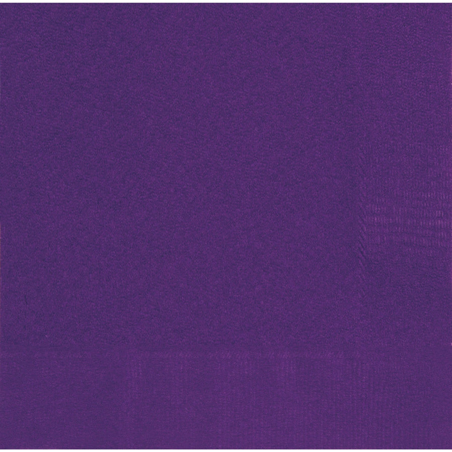 "13"" x 13"" Deep Purple Napkins 20/pk"