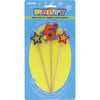 "Numeral ""6"" Star Candle Set"