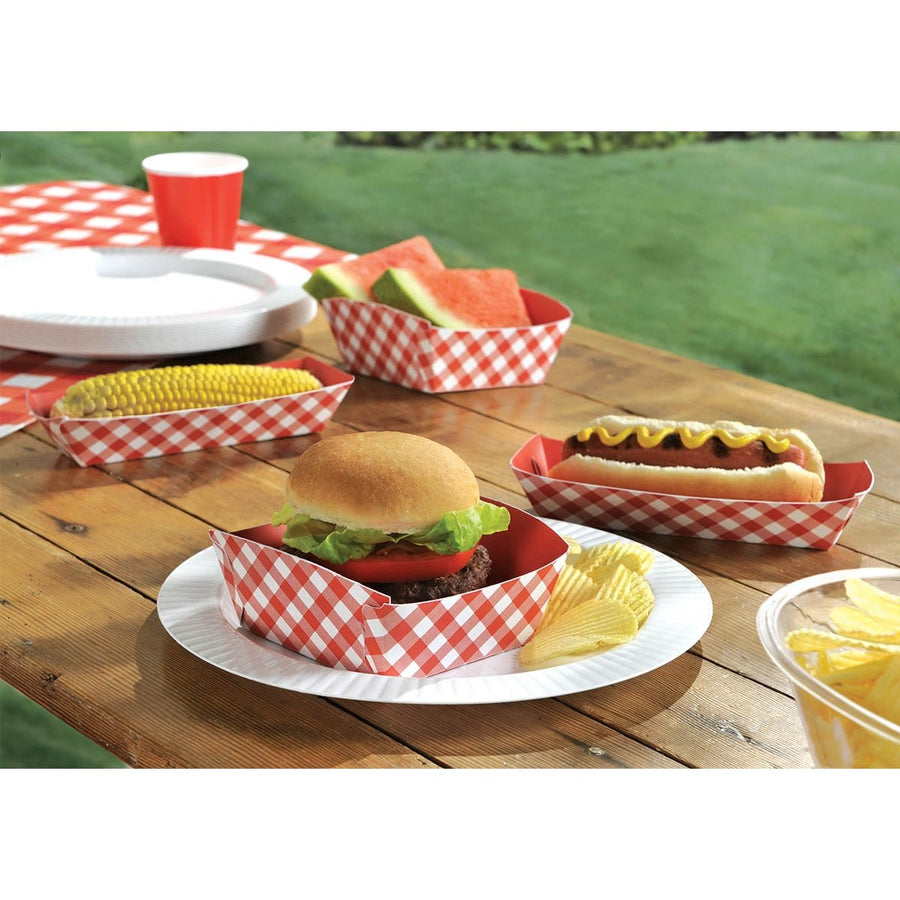 Burger Trays, 4/pk