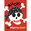 Invitations - Pirate, 8/pk