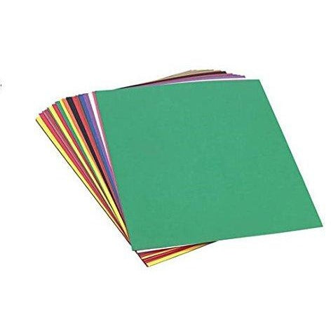 72-sheet Coloured Construction Paper