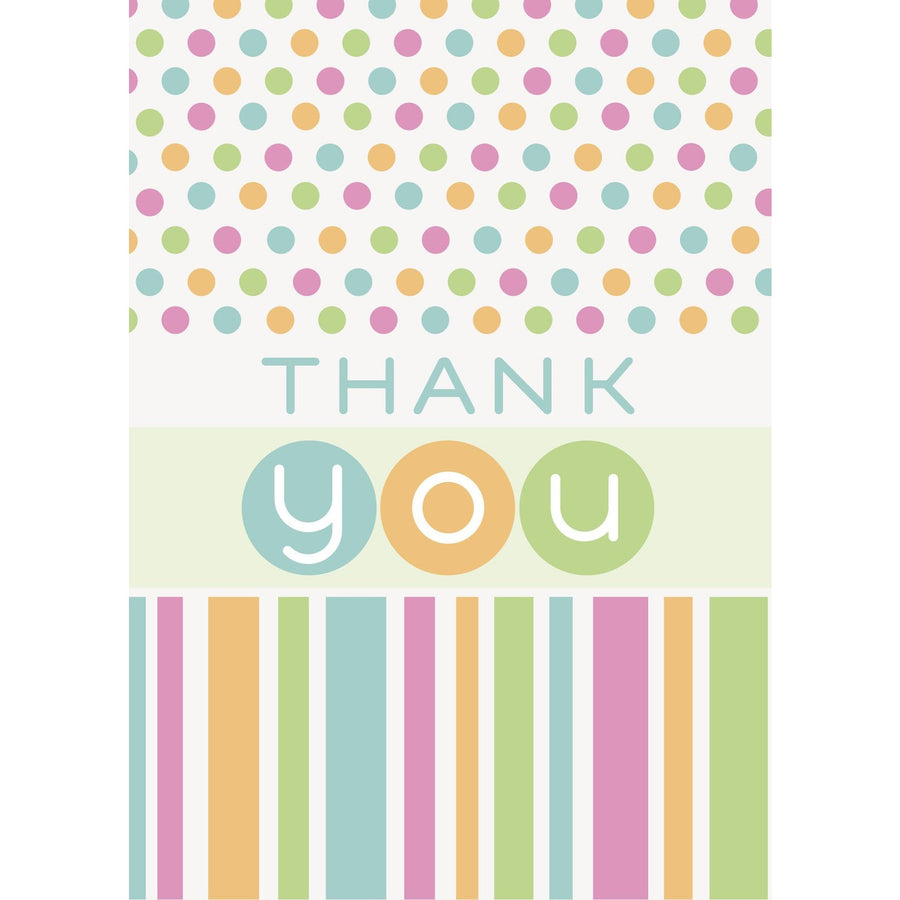 Thank You - Baby Shower, 8/pk