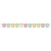 """Baby Shower"" Jointed Banner Pastel Baby"
