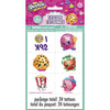 Tattoo Sheets - Shopkins, 24/pk