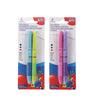 2-pc Tri-Colour Retractable Ball Pen