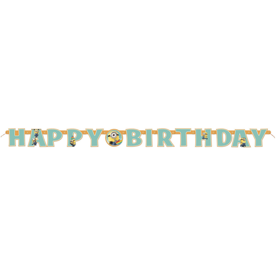 Minions Happy Birthday Jointed Banner