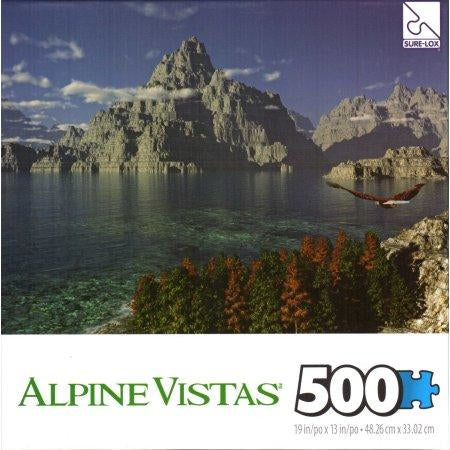 Jigsaw Puzzle 500 Pieces - Mountain View