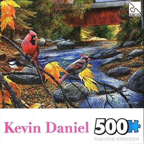 Jigsaw Puzzle 500 Pieces - Fall Feathers and Foliage
