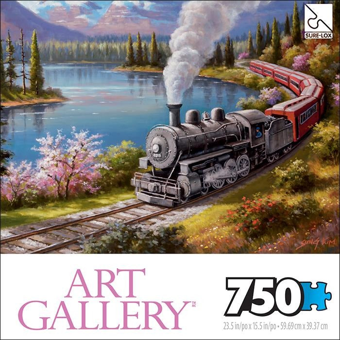 Jigsaw Puzzle 750 Pieces - Scenic Route