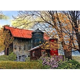 Jigsaw Puzzle 750 Pieces - Pin Head Silos Vermont