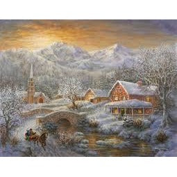 Jigsaw Puzzle 1000 Pieces - Winter Merriment