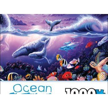 Jigsaw Puzzle 1000 Pieces - Tropic Moonlight