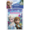 Invitations - Frozen, 8/pk