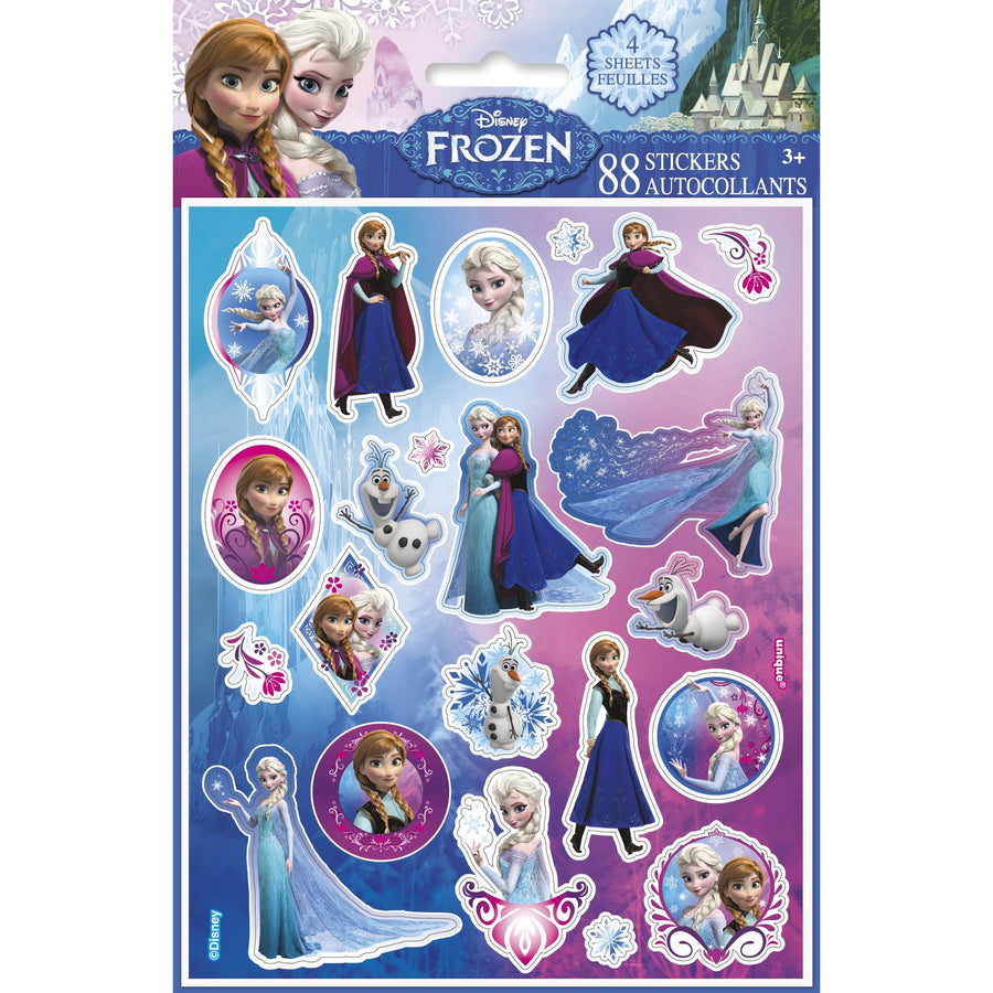 Sticker Sheets - Frozen, 88/pk