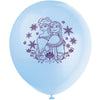 Frozen Printed Latex Balloons 4 assorted colours 8/pk