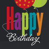 "13"" x 13"" Birthday Cheer Napkins 16/pk"