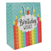 """Birthday Wishes"" Gift Bag - Large"