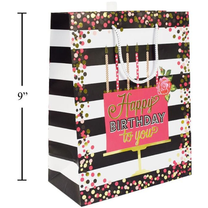 Happy Birthday Gift Bag - Medium