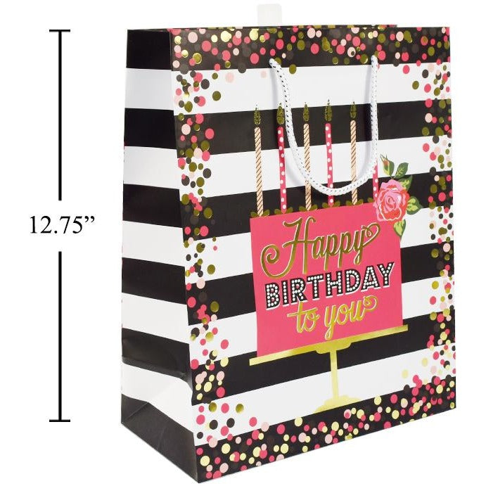 Happy Birthday Gift Bag - Large