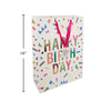 Deluxe Happy Birthday Gift Bag - Jumbo