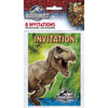 Invitations - Dinosaur, 8/pk