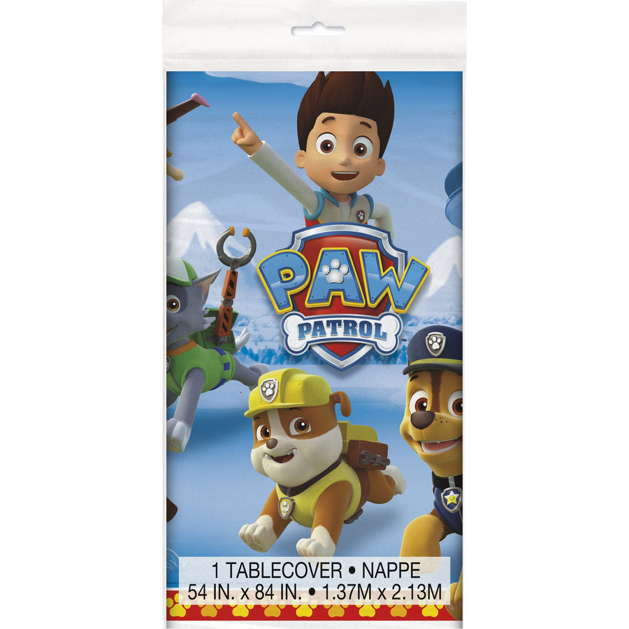 Paw Patrol Plastic Table Cover Rectangular