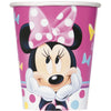 9oz Minnie Mouse Paper Cups 8/pk