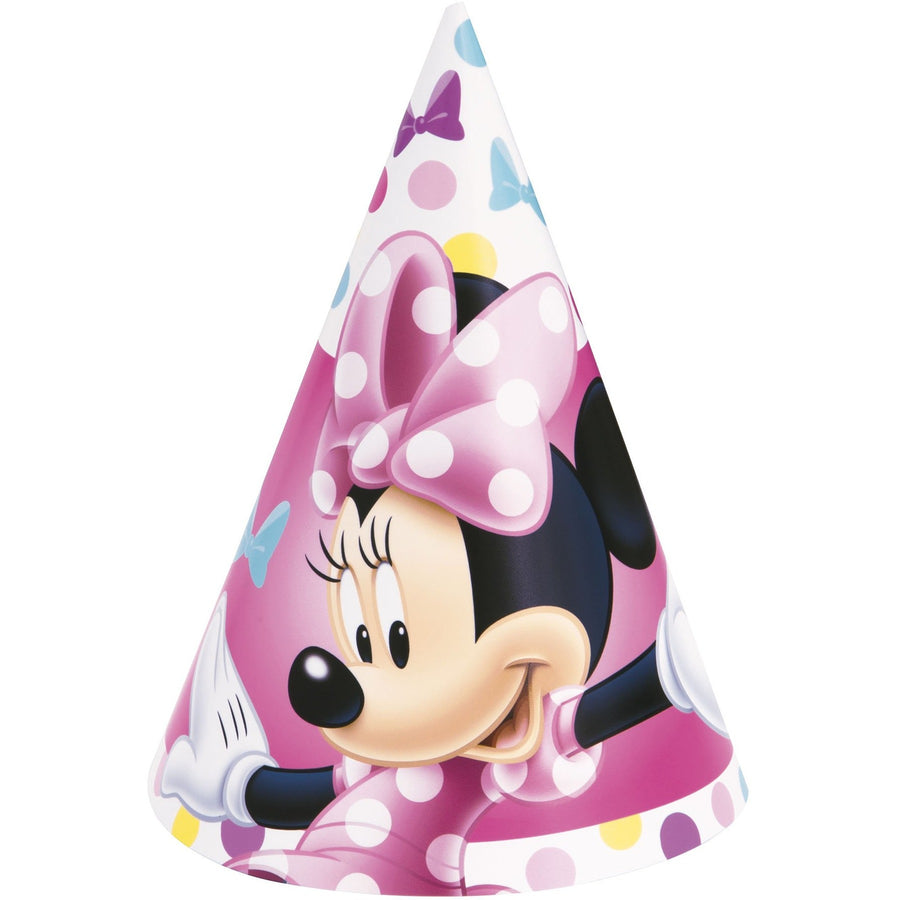 Party Hats - Minnie Mouse, 8/pk