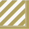 "10"" x 10"" Golden Birthday Napkins 16/pk"