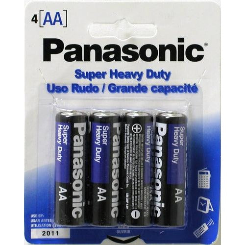 Battery Panasonic Super Heavy Duty - AA, 4/pk