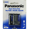 Battery Panasonic Super Heavy Duty - AAA, 4/pk