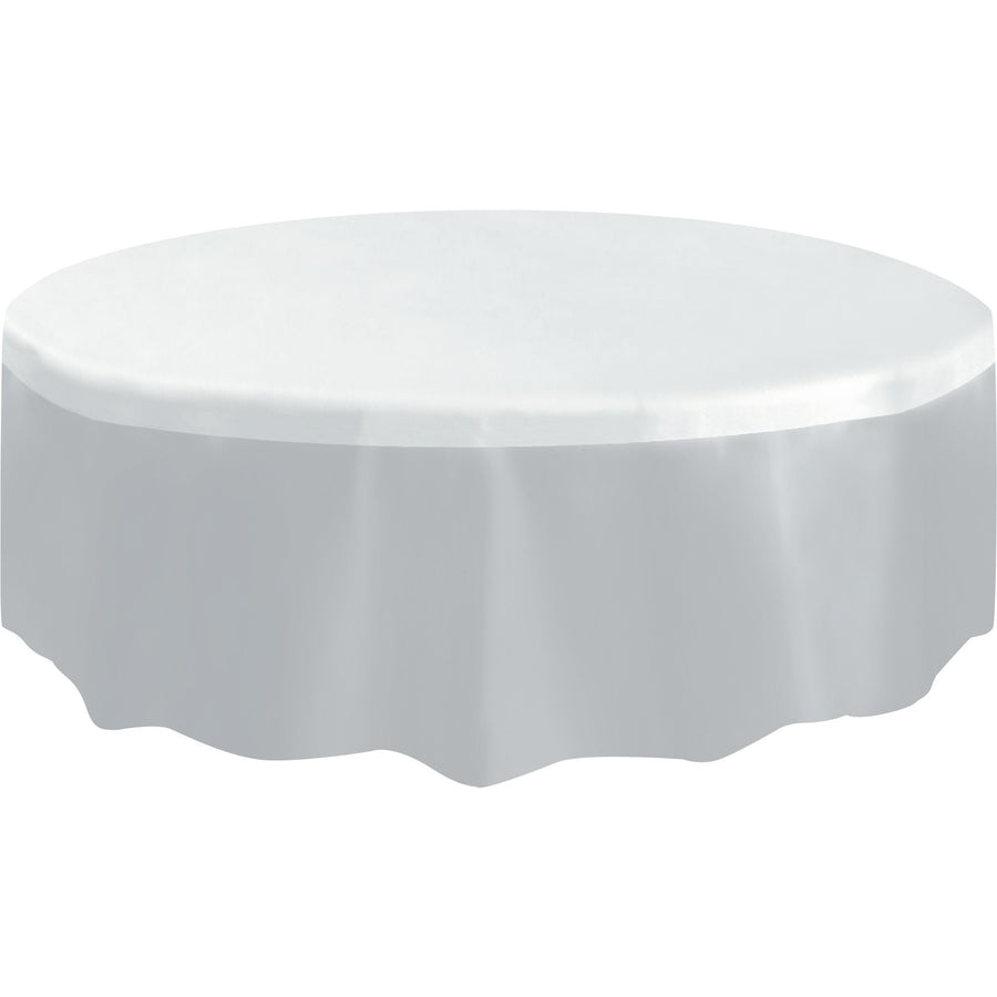 Clear Plastic Table Cover Round