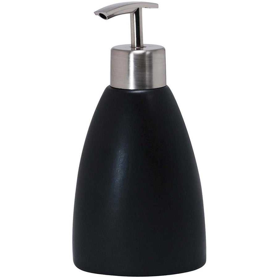 Ceramic Lotion Dispenser - Matte Charcoal