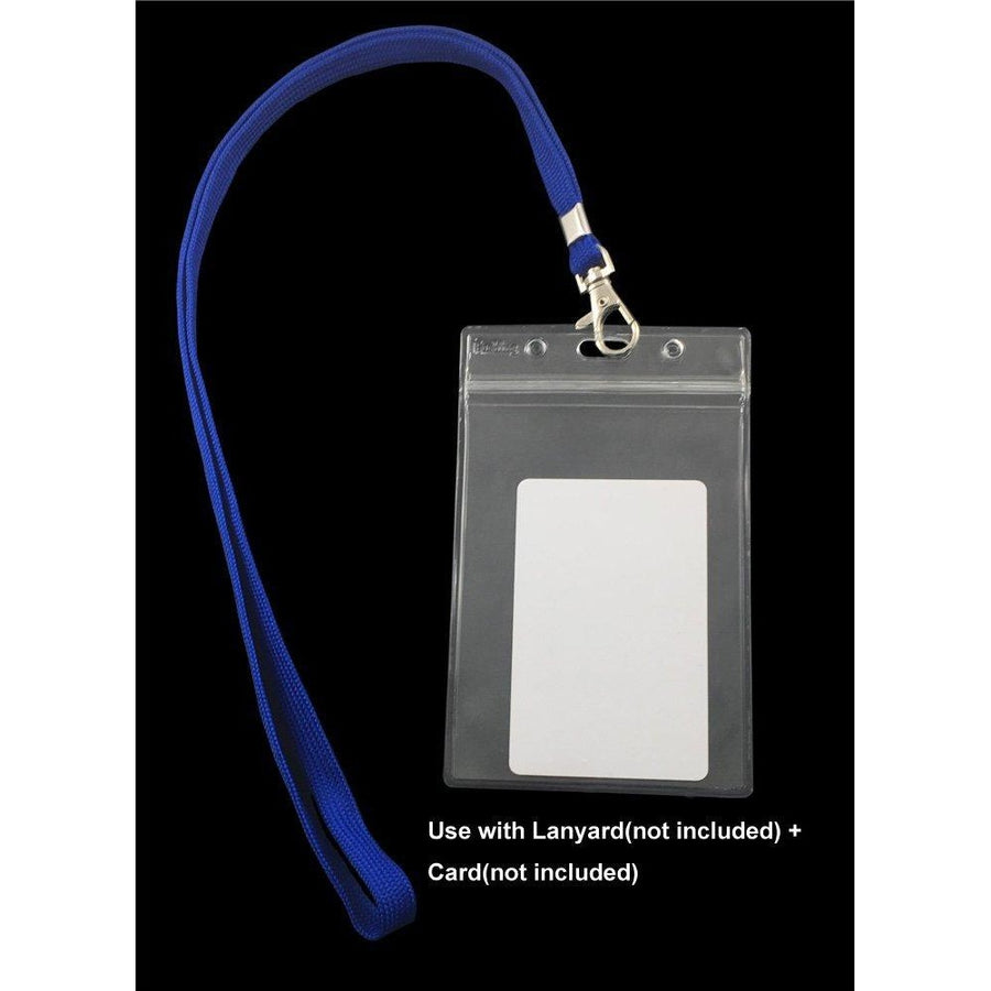 Vertical Badge Holders, 6/pk