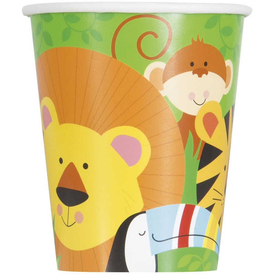 9oz Animal Jungle Paper Cups 8/pk