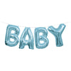 Baby Balloon Banner Kit Blue