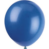 Royal Blue Latex Balloons 10/pk