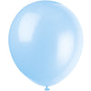 Baby Blue Latex Balloons 10/pk