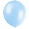 Assorted Pastel Latex Balloons 10/pk