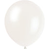 Clear Latex Balloons 10/pk