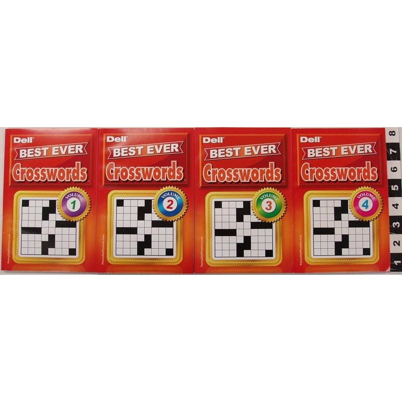 Best Ever Crosswords Digest - 4 Assorted