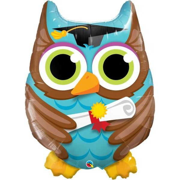 "34"" Super Shape Graduate Owl"