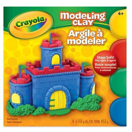 Modeling Clay, 4 Colours