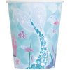 9oz  Mermaid Paper Cups 8/pk