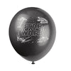 Star Wars Printed Latex Balloons 4 assorted colours 8/pk