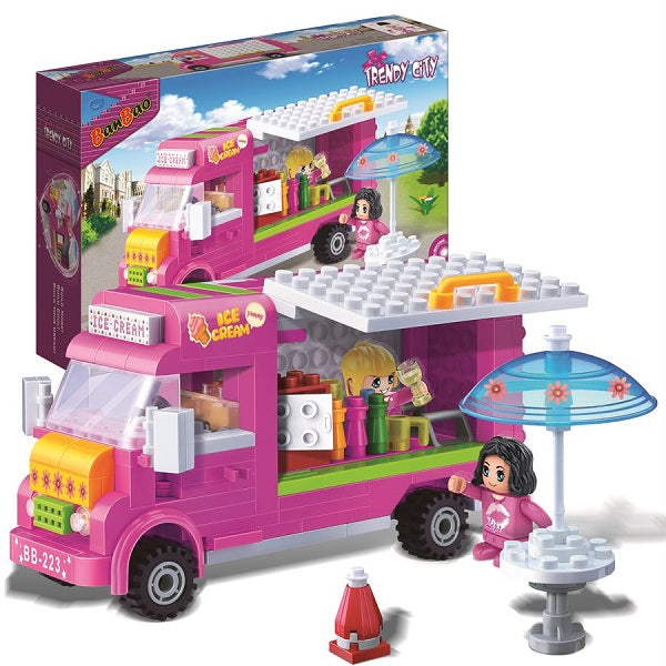 223PC Trendy City Ice Cream Truck