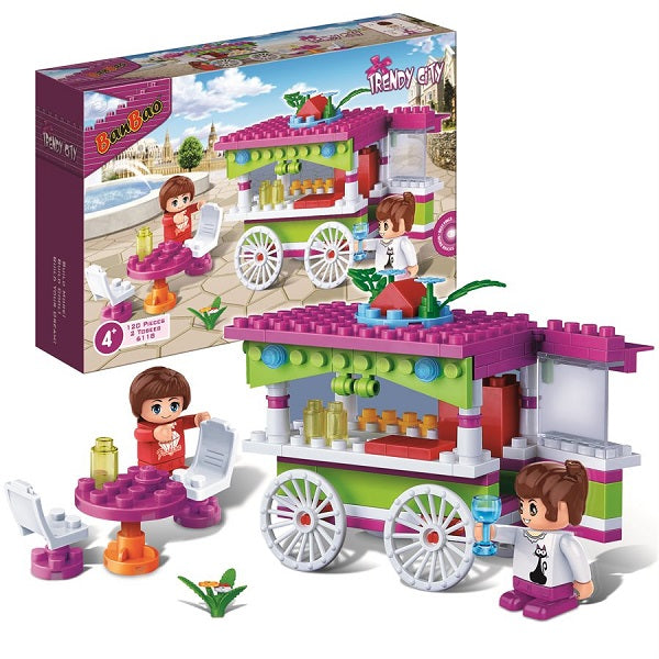 120PC Trendy City Snack Car