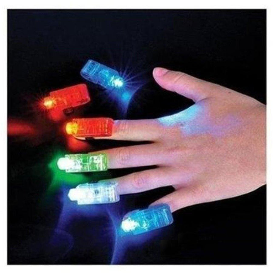 LED Finger Lights, 3/pk