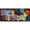 """Happy Birthday"" Giant Wall Banner"