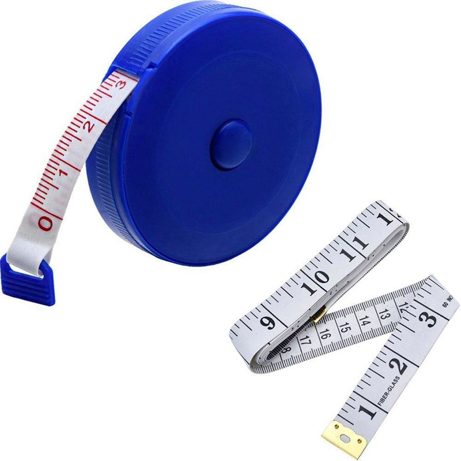 "60"" Tape Measure & Retractable Tape Measure Set"